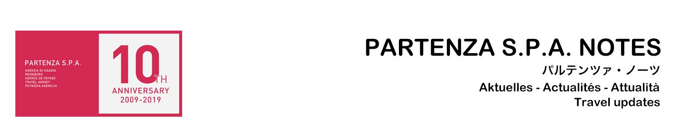 PARTENZA S.P.A. NOTES